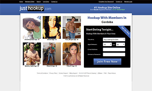 What is a good headline for a hookup website